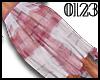 *0123* Pink Plaid Skirt