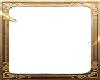 Gold Heart Frame Sticker