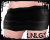 L:BBW Skirt-Mini Black