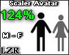 Scaler Avatar M - F 124%