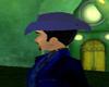 **SA71**Blue Cowboy hat