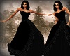 Black Christmas Gown