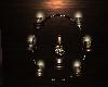 Circle Of  Lights Wall