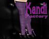 !KF HeatherPu Boots