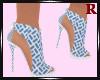 Adriana Printed Heels