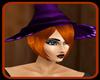!      WITCH PURPLE HAT