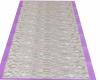 Purple&Wh Lacy AisleRun