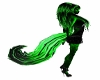 **Toxic Green Raver Tail