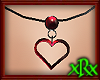 Heart Necklace Goth