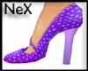 [NeX]-PurpleDot HighHeel