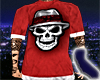 Cholo Skull Red