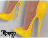 E! Yellow Pumps.