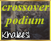K: Iota crossover podium