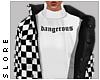 $ b/w dangerous jacket