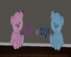 3D Bear Gender Sign