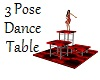 3 Pose Dance Table