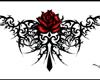 henna flower tattoo