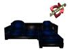 Sofa DarkBlue Poseless