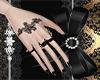 Nail Black Gold