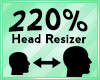 Head Scaler 220%