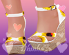 Sunflowers Sandals W