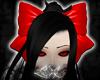 -LEXI- Hair Bow: Red