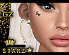 |gz| heart earrings ears