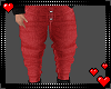 Red Loose Jeans