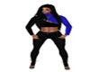 rls black blue fit