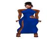 rayol blue dress
