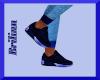 [B] Blue Sneakers
