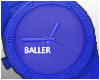 Blue Sports Watch