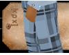 [XDX] Baby Blue Pants
