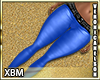 VN LEGGINGS BLUE XBM