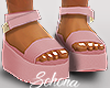 ṩ Platform Sandals Pnk