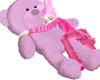TeddyBear Pillow PINK
