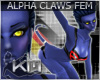 +KM+ ALPHA Claws FEM