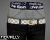 LV Black Jeans