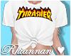 💙 Thrasher Tee White