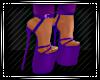 Valentine Purple Heels