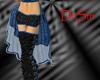 Blue Burlesque Skirt