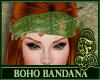 Boho Bandana Green