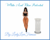 White And Blue Pedestal