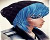 Emo Blue Beaie Hair
