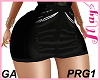 """""""Skirt PRG1 PVC Black"""