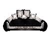 BLACK /WHITE BED