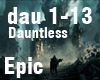 Dauntless epic music