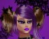 Brown/Purple - Pigtails