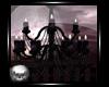 Skull & Roses Chandelier