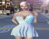 Summer Chevron Dress